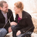 Engagement photos – Lindsay + Andrew [Waterloo, IA]