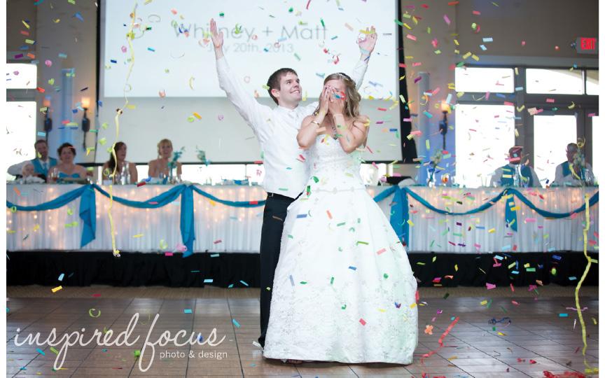 Cedar Falls Iowa Wedding Photographer  PIPAC  Whitney + Matt