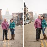 Winter Engagement Photos | Des Moines, IA