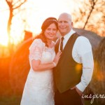 Outdoor Fall Barn Wedding | Barnes' Place | Adel, IA