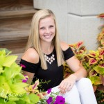 Waterhawks ski team senior | Cedar Falls Senior Photography | Maggie