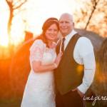 Outdoor Fall Barn Wedding   Barnes' Place   Adel, IA